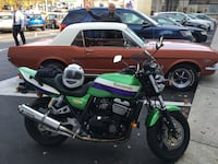 green and black touring motorcycle Silver Spring, 20902