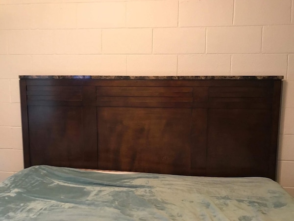 Used Marble top king size bedroom set for sale in Odessa - letgo