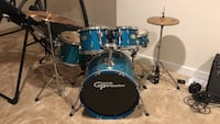Complete 5 piece drum kit Sterling, 20166