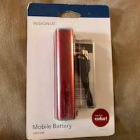 New Insignia Mobile/portable fast Battery Charger Greenville, 29607