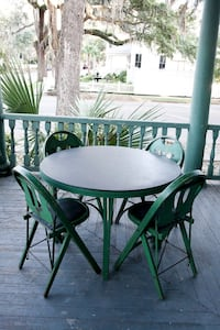 Antique Card Table & Chairs... PRICE REDUCED EVEN MORE!!