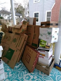 Free Moving Boxes Rhode Island