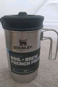 Brand new Stanley Boil and Brew french press and coffee grinder Ottawa, K2S 0P1