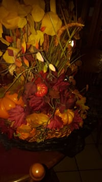 Beautiful fall center piece.  Watauga, 76148