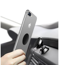 Magnetic Phone Holder for Car,360° Adjustable Dashboard Cellphone Car Mount Holder for iPhone 8 8 Plus 7 7 Plus , 6 6 Plus, Samsung S7 S8, HTC, LG, ZTE [Easy Series] (Black) Montréal, H4L 3Z5