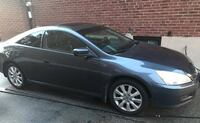 2007 HONDA ACCORD COUPE EX-L 3.0L V6 - POWER HEATED LEATHER SEATS, COLD A/C. POWER SUNROOF, 1 OWNER, BLUE EXTERIOR COLOUR, PREMIUM AUDIO, ALLOY WHEEL AND MUCH MORE. THIS PREMIUM SEDAN IS IN EXCELLENT SHAPE INSIDE AND OUT, A MUST SEE!!!  ONE OWNER!  MANY F Toronto
