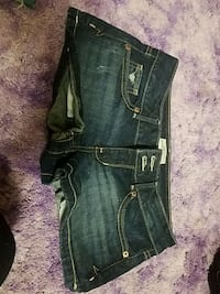 black denim distressed short shorts Spokane Valley, 99216