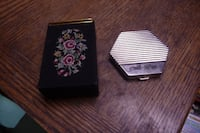 VINTAGE LADIES CIGARETTE CASE / ANCIEN ETUI DE CIGARETTES FEMME France
