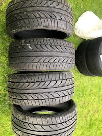245/35ZR19 tires (4) PITTSBURGH