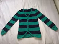 NEW woman's blue striped sweater! Mississauga, L4Z 3Z4