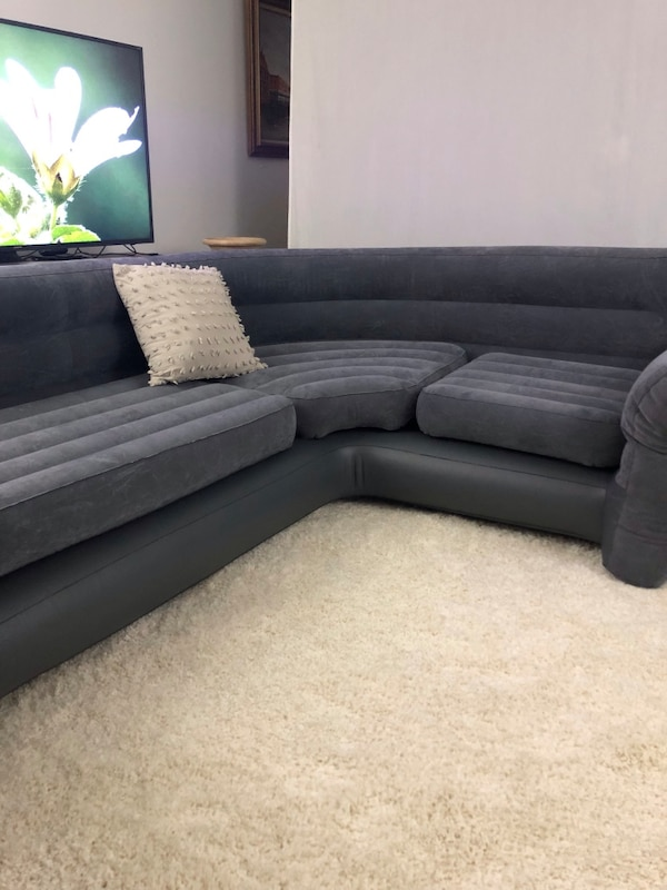 Inflatable Corner Living Room Sectional Sofa