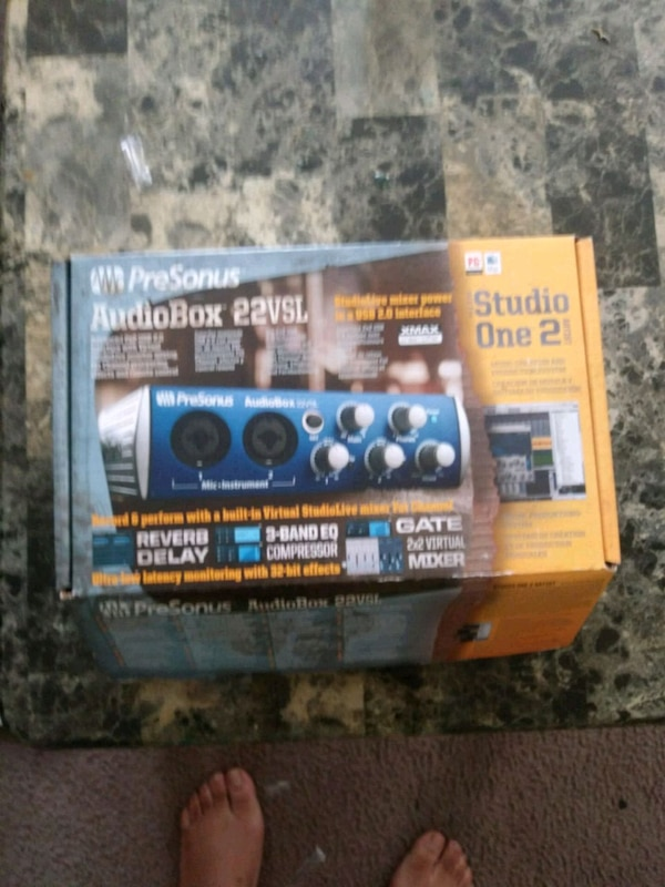 Audio box need gone today