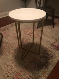 Marble Top Side Table Charlotte, 28226