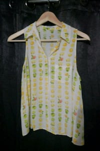 Cute lemon and lime sleeveless shirt Toronto, M3C 2J1