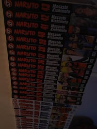 Naruto books 1-43 including official fanbook 3491 km