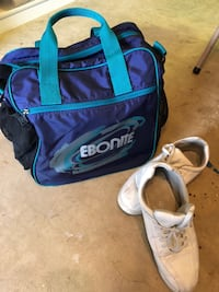 Bowling bag and shoes Fairfax, 22033