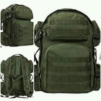 NEW NCSTAR DELUXE TACTICAL BACKPACK -GREEN Ontario, 91764