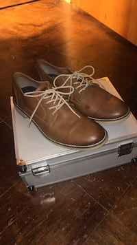 pair of brown leather dress shoes Bangor, 04401