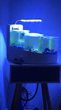 Waterfalls fish tank