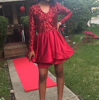 Red short prom dress  Baltimore, 21229