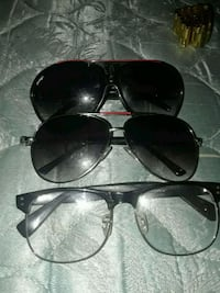 two sunglasses with one eyeglasses Springfield