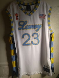 1Rare limited edition  laney and Jordan jersey