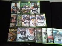 assorted Xbox 360 game cases District Heights, 20747