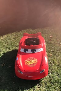Lighting McQueen Power Wheels Car with new 6 volt battery