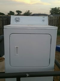 white front-load clothes dryer Midland