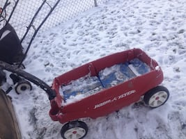 Radio Flyer Wagon- 2 seater