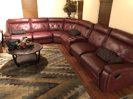 Couch, tables, chairs