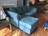 suede sectional sofa with chase Denver, 80209