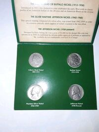 American nickels of the 20th century Henderson, 89002