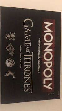 Game of Thronses Monopoly Austin, 78727