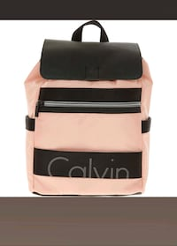 CALVIN KLEIN  Powder Pink & Black Backpack   Rælingen, 2008