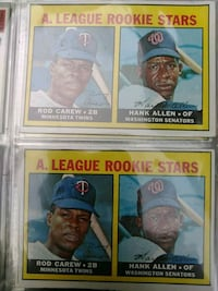 two baseball player trading cards Baltimore, 21215