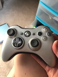 Gray and black xbox 360 controller Edmonton, T5Z 0C6