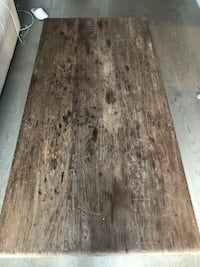Wooden distressed coffee table  Toronto, M5R 1J1