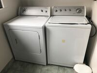 Whirlpool washer and dryer Montréal, H4M 2H5