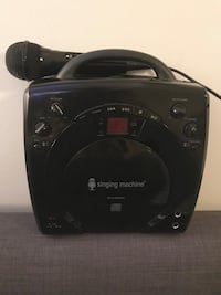 Singing Machine . Never Used . Vaughan, L4L 2S8