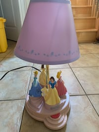 Disney princess musical night stand lamp.  Richmond Hill, L4E 4N4