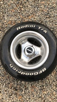 15 inch Prime Rims and Tires.  Set of 4