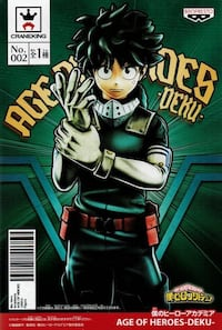 New My Hero Academy, Age of Heroes collection-Deku- Burnaby, V5E 3J1