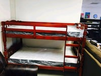 Bunk beds with mattress include free  Houston, 77055