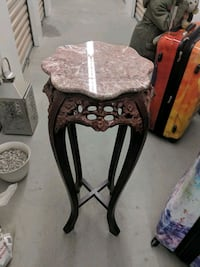 Marble Top Plant Stand Toronto, M1H 3H3