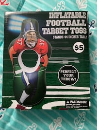 Football Target Toss inflatable Montgomery Village, 20886