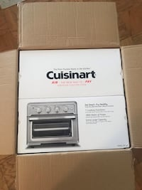 Cuisinart Air Fryer Toaster Oven Arlington, 22209