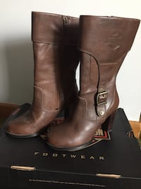 Ladies Harley Davidson Boots Size 6