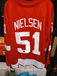 Autographed Frans Neilson Detroit Red Wings jersey Windsor, N9G 2G8
