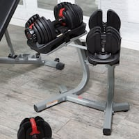 Select Tech 552 series weights & stand